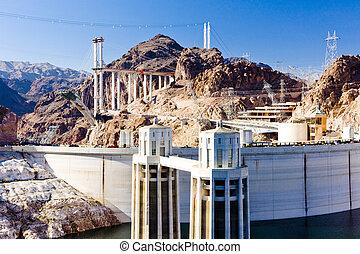 真空吸尘器水坝, 美国, arizona-nevada