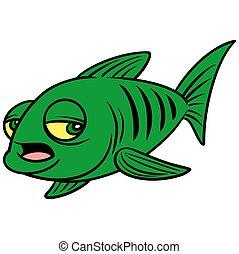 眠い, fish