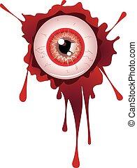 眼球, ハロウィーン, よく