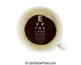 眼科医, コーヒー