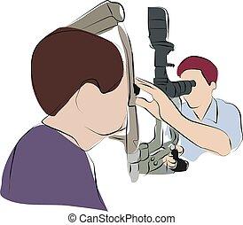 眼科医, 目, 点検