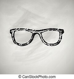眼鏡, 圖象