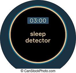睡眠, 探知器