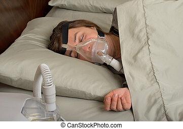 睡眠, apnea