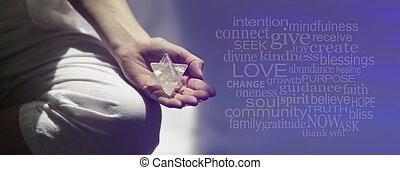 瞑想, 単語, 雲, mindfulness