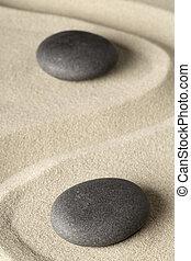 瞑想, 禅, 石, 背景