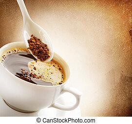 瞬間, coffee., 型, スタイルを作られる