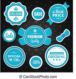 矢量, 假期, 屠夫, 銷售, 徽章