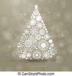 矢量, 圣誕樹