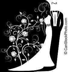 矢量, 婚禮