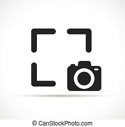 矢量, 捕捉, 设计, 符号, 图标
