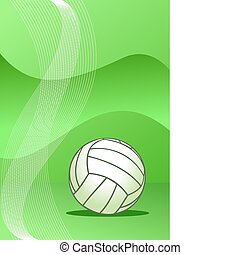 矢量, 排球, 背景