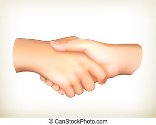 矢量, 握手