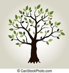 矢量, 树