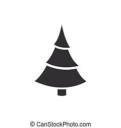矢量, 樹, 聖誕節, 圖象