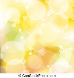 矢量, 橙, 以及, 黃色, 摘要, 背景
