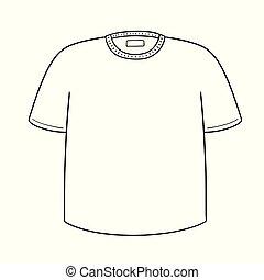 矢量, ......的, t恤衫