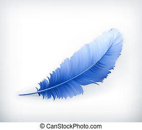 矢量, 羽毛