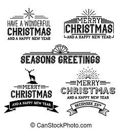 矢量, 聖誕節, 簽署