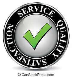矢量, 質量, 服務, 標簽