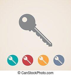 矢量, 鑰匙, 圖象