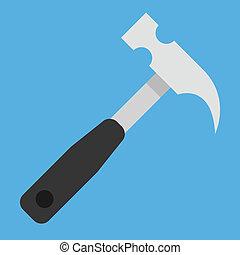 矢量, 锤子图标