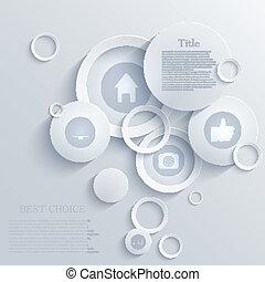 矢量, infographic, eps10, 背景, design.
