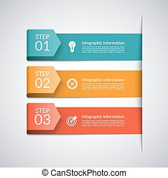矢, ビジネス, 現代, テンプレート,  infographics, 最小である