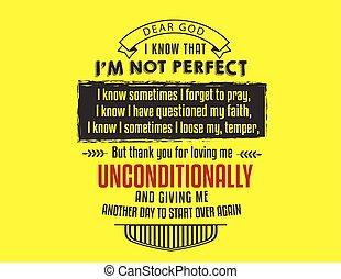 知りなさい, ない, 神, 完全, ∥i∥ある∥, 親しい