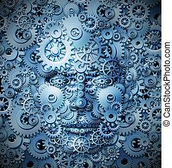 知性, 創造性, 人間