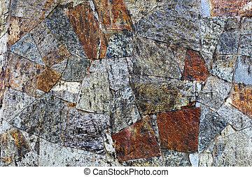 石のきめ, 古い, 背景, 壁