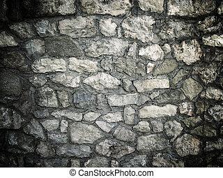 石の壁, 手ざわり