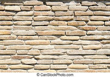 石の壁, 背景