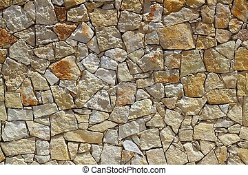 石头墙, 模式, 建设, 石头, masonry