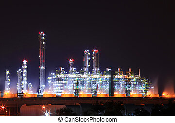 石油化学, 石油精製所, 植物
