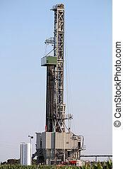 石油操練, 裝置, 上, 領域