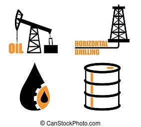 石油産業, アイコン