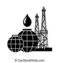 石油産業, 石油, emblem., products., 技術