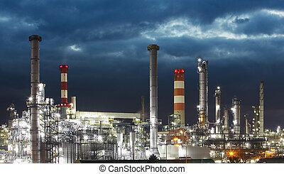 石油産業, -, 精製所, 工場
