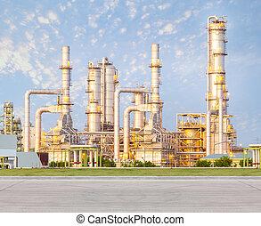 石油精製所, 工場