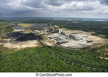 石炭, 出荷, factory.
