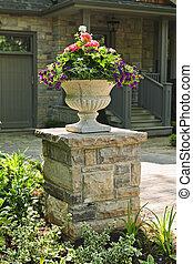 石頭種植者, 前面, 房子