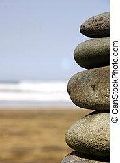 石頭, 堆
