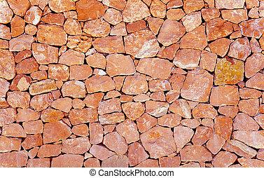 石頭, 泥瓦工, 牆, 圖案, 背景