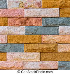 石, れんが, 手ざわり, 背景, 壁