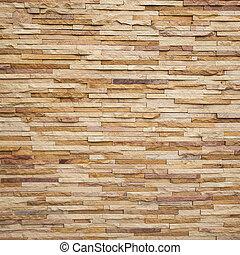 石, タイル, れんがの壁, 手ざわり