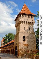 石, 中世, タワー