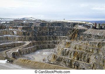 石, 仕事, 採石場