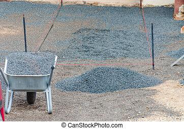 石, 位置, 舗装