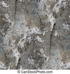 石, 古い, 壁, seamless, 手ざわり, 背景, ひび